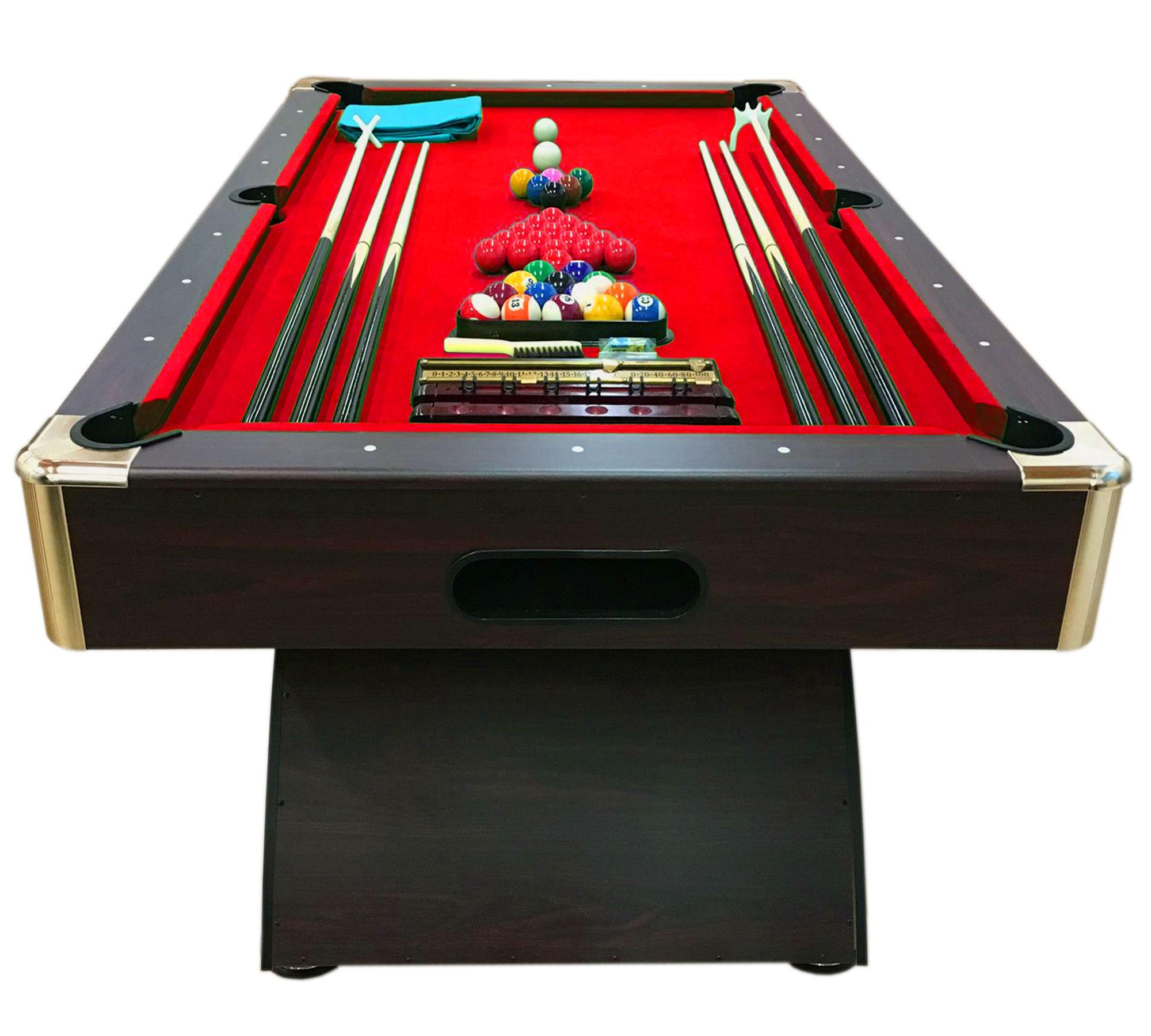 Tavolo da biliardo 8 ft accessori per carambola snooker - Misure tavolo da biliardo ...