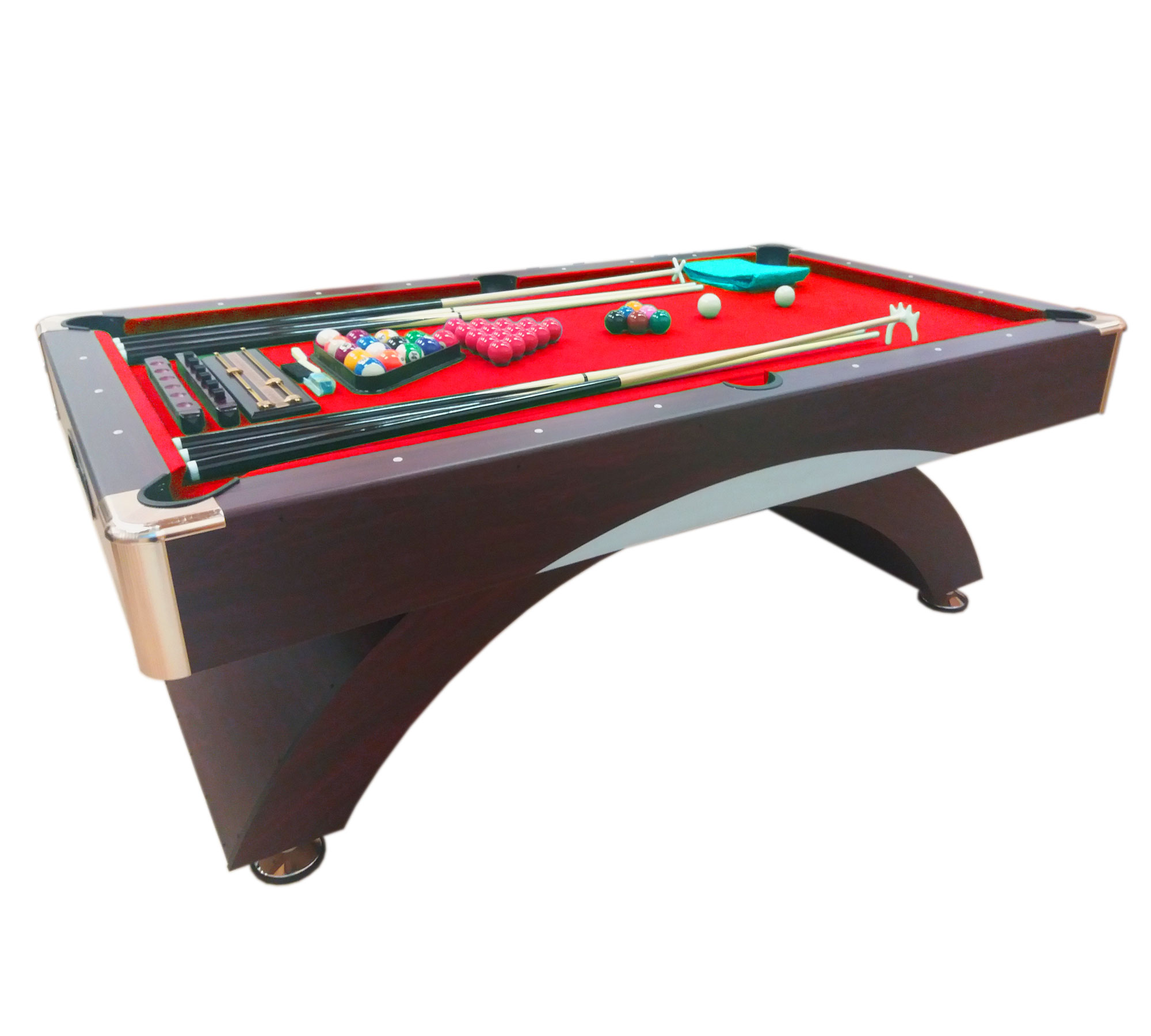 Tavolo da biliardo carambola misura 188 x 96 cm - Misure tavolo da biliardo ...