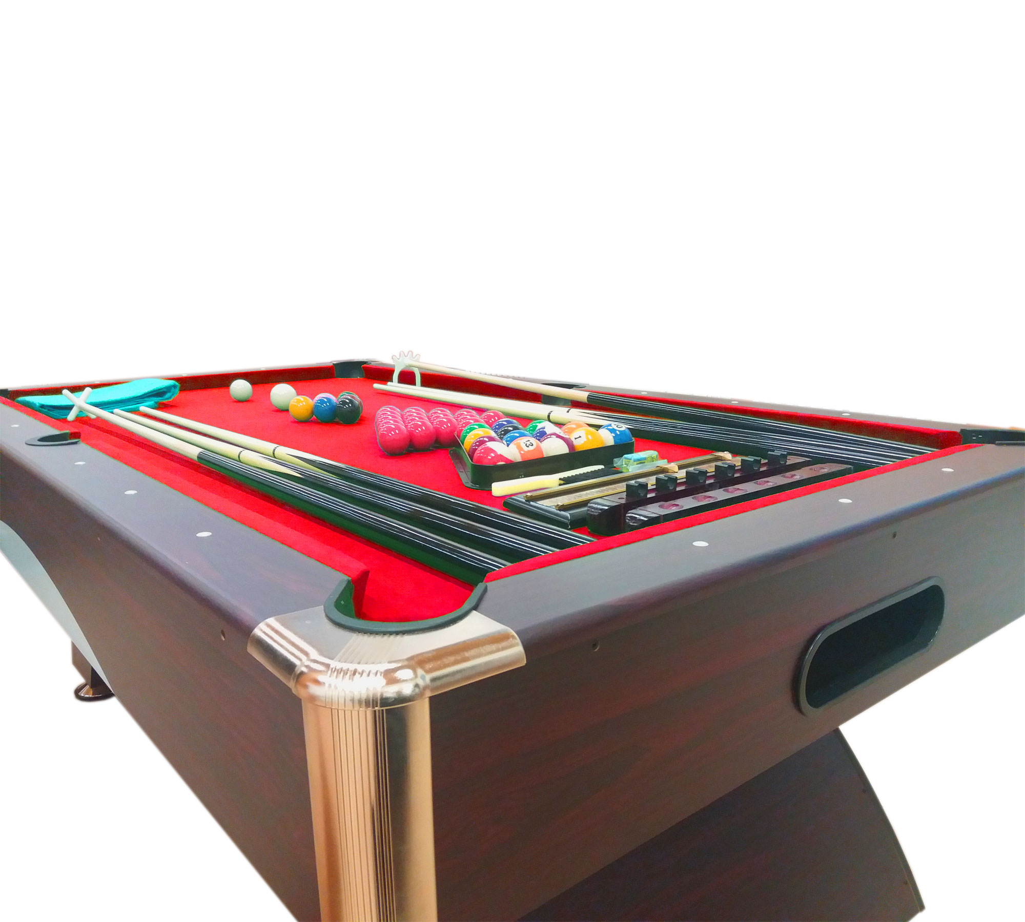 Mesa de billar juegos de billar pool 7 ft carambola full for Mesa de billar profesional