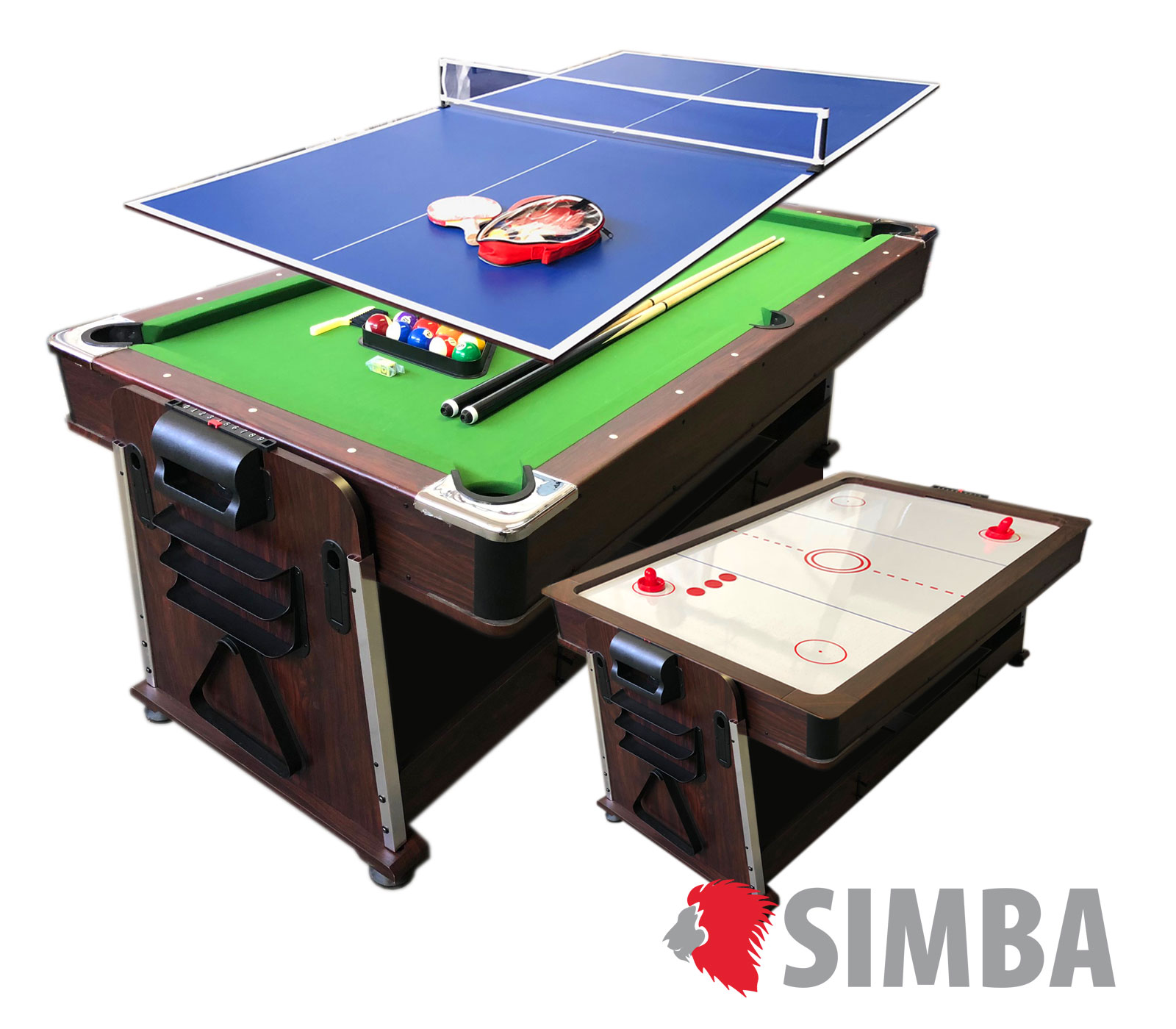 Details about 7Ft Green Pool Table Billiard + Air Hockey + Tennis Table + Cover plan for table  sc 1 st  eBay & 7Ft Green Pool Table Billiard + Air Hockey + Tennis Table + ...