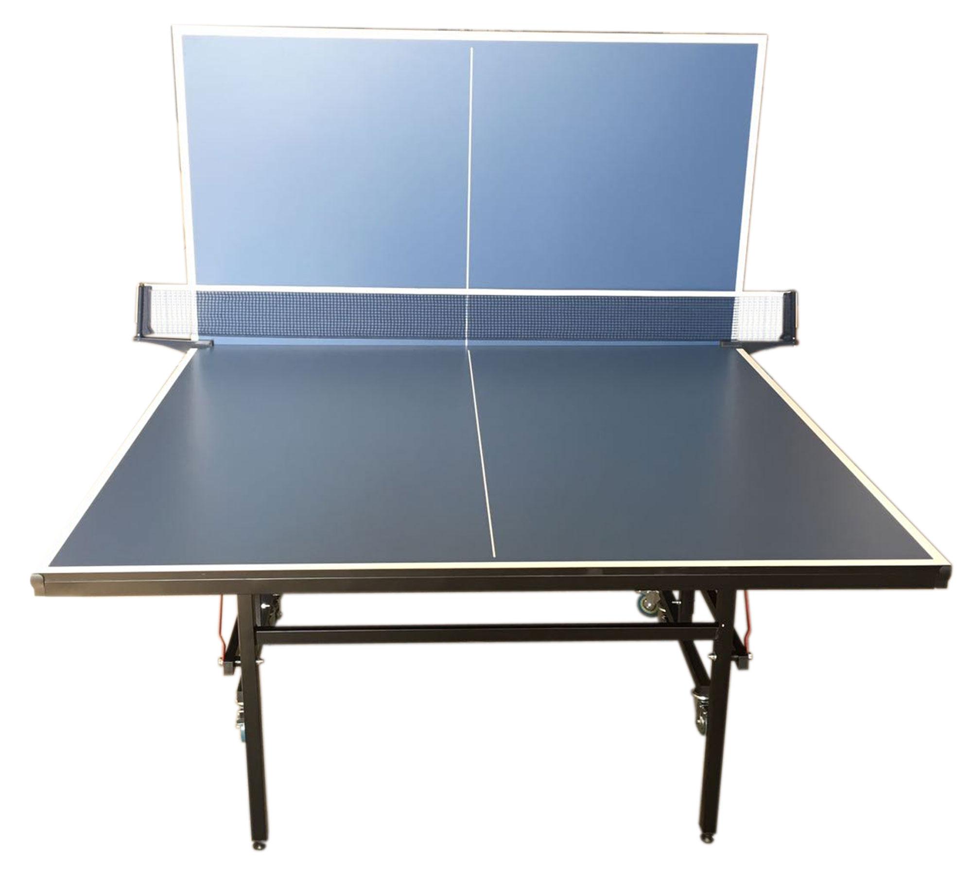 Tavolo ping pong professionale tennis da tavolo blue con - Tavolo da ping pong ...