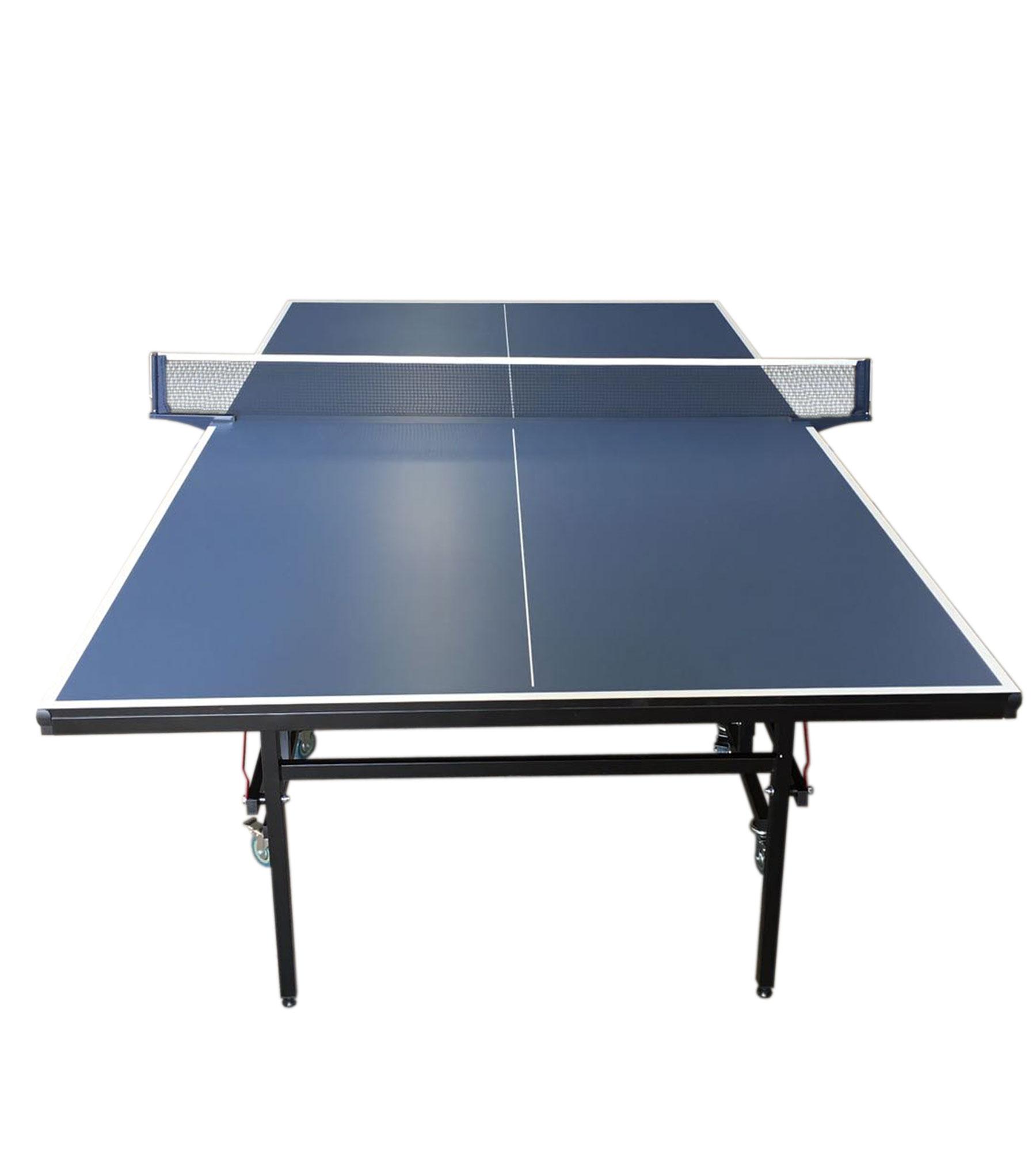 Tavolo ping pong professionale tennis da tavolo blue con rete modello roby ebay - Misure tavolo da ping pong professionale ...