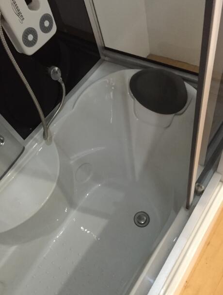 sicily whirlpool duschkabine badewanne    cm