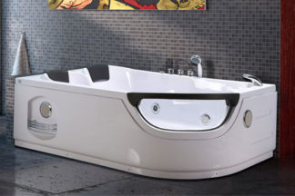 Whirlpool Corner Bathtub for 2 persons