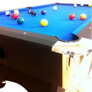 7 FT Pool Table U2013 Blue Carpet Billiards