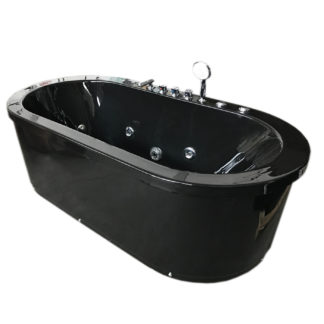 Whirlpool Corner Freestanding Bathtub