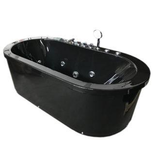 Whirlpool Corner Freestanding Bathtub