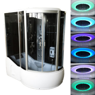 Whirlpool Shower and Bathtub