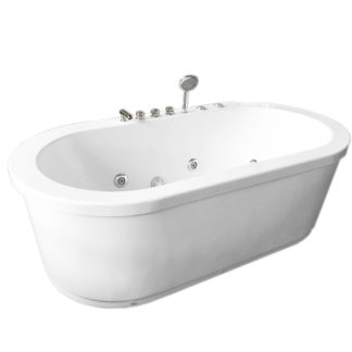 Corner Freestanding Bathtub
