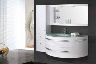 Mueble cuarto de baño 120 cm Unidad de columna y lavabo incluidos -  Ambassador