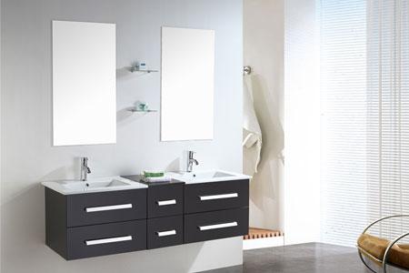 Mueble cuarto de baño 150 cm Lavabos incluidos - Rome