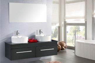 Mueble cuarto de baño 150 cm Lavabos incluidos - Cardellino