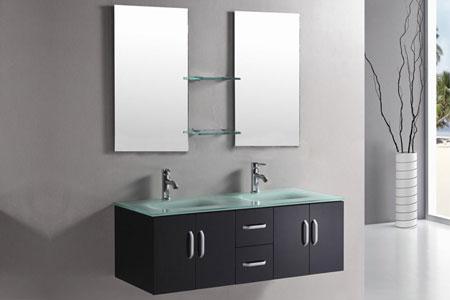 Mueble cuarto de baño 151 cm Lavabos incluidos - Ice - Simbashopping ...