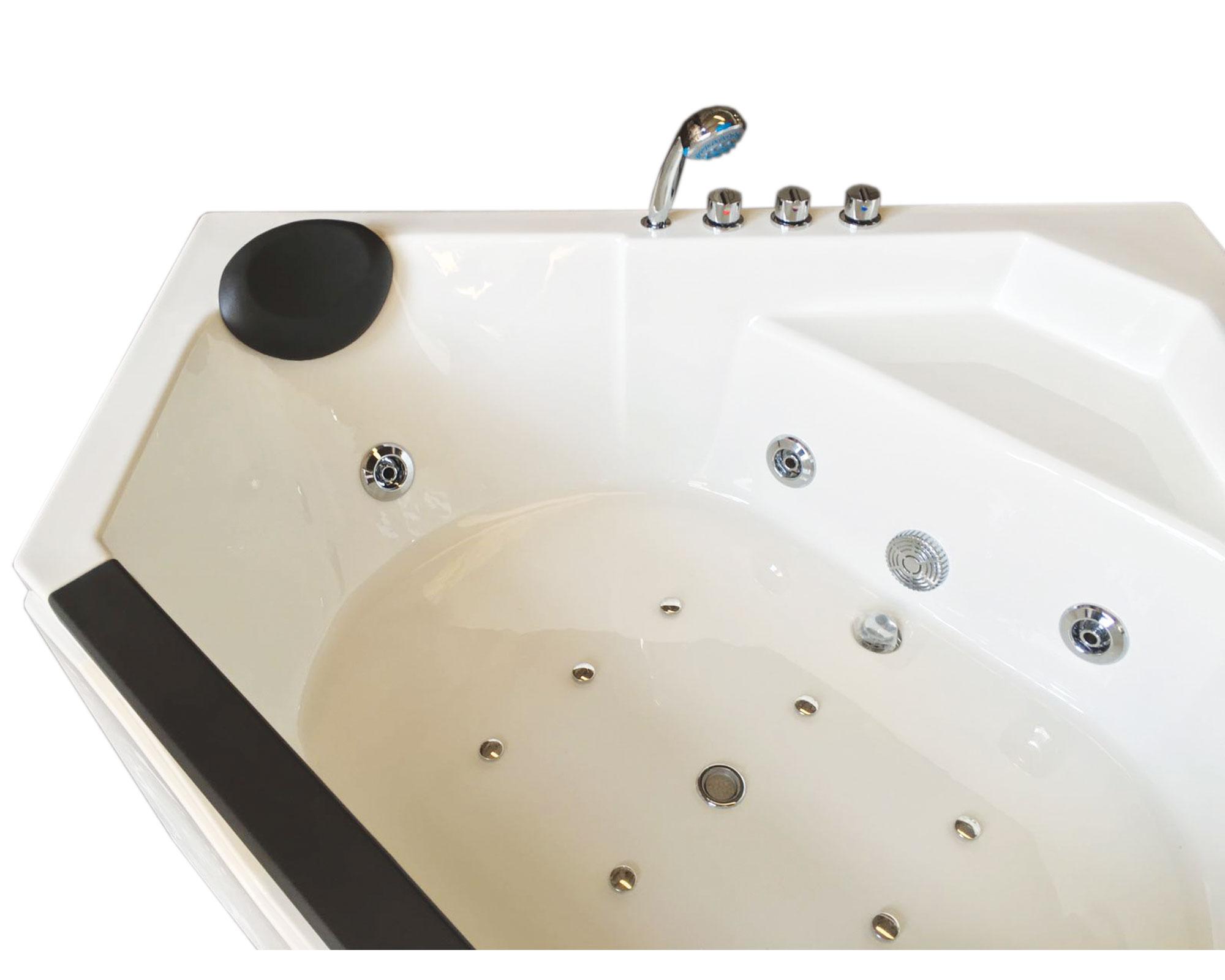 ibiza baignoire hydromassage pour 2 personnes 150 x 150 cm. Black Bedroom Furniture Sets. Home Design Ideas