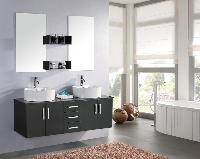 butterfly meuble de salle de bain 150 cm lavabo inclus simbashopping france. Black Bedroom Furniture Sets. Home Design Ideas