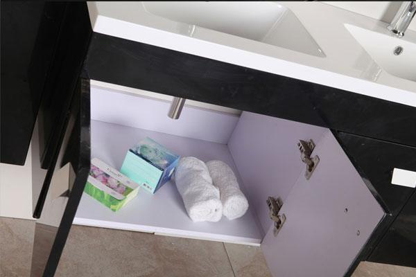 Mobile Bagno Arredo Bagno 120 cm Colonne e doppio lavabo inclusi ...