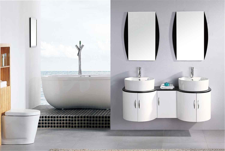 tiger - mobile bagno arredo bagno 138 cm doppio lavabo inclusi ... - Mobili Bagno Arredo