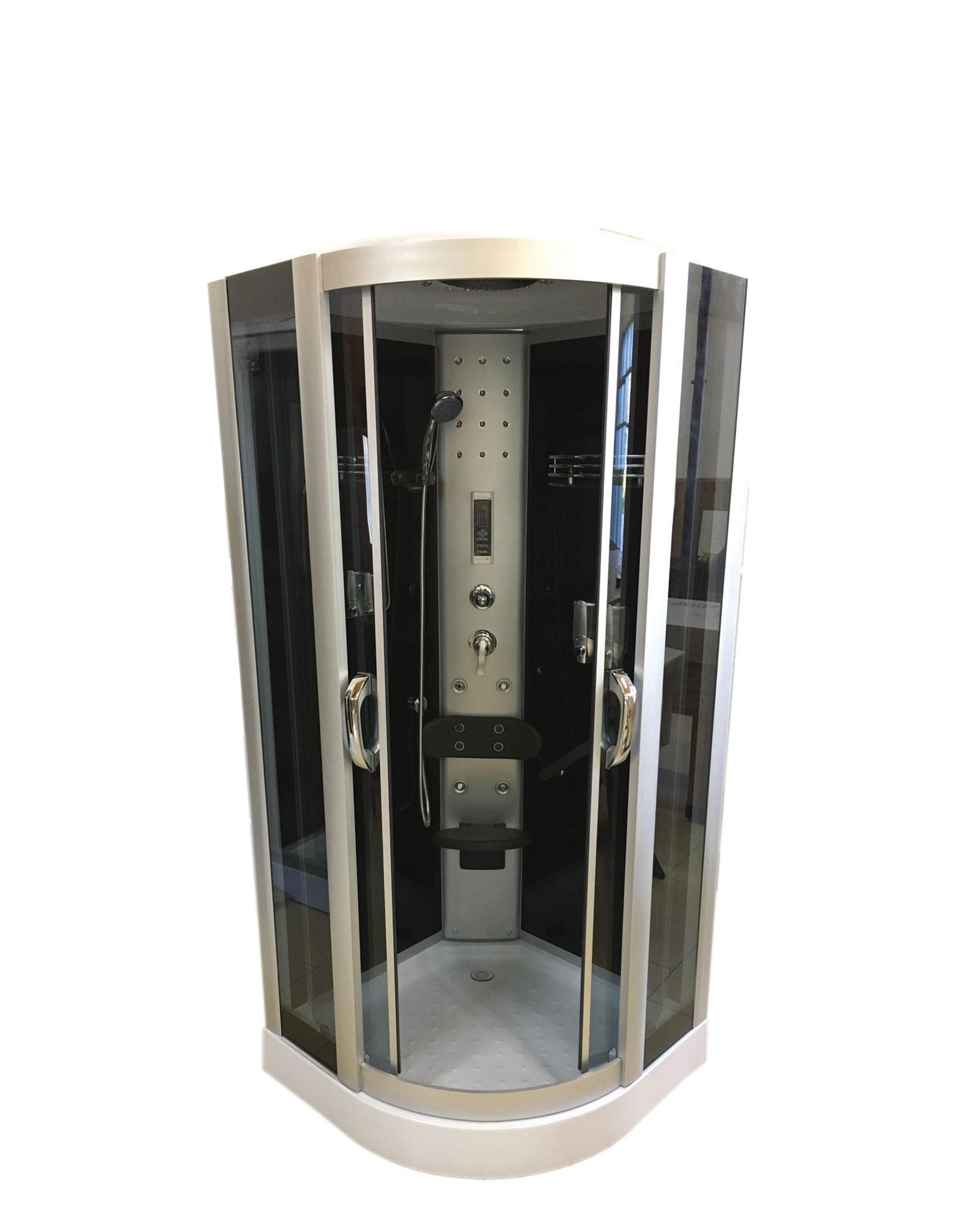 Box doccia idromassaggio cabina doccia full optional - Brico vasche da bagno ...