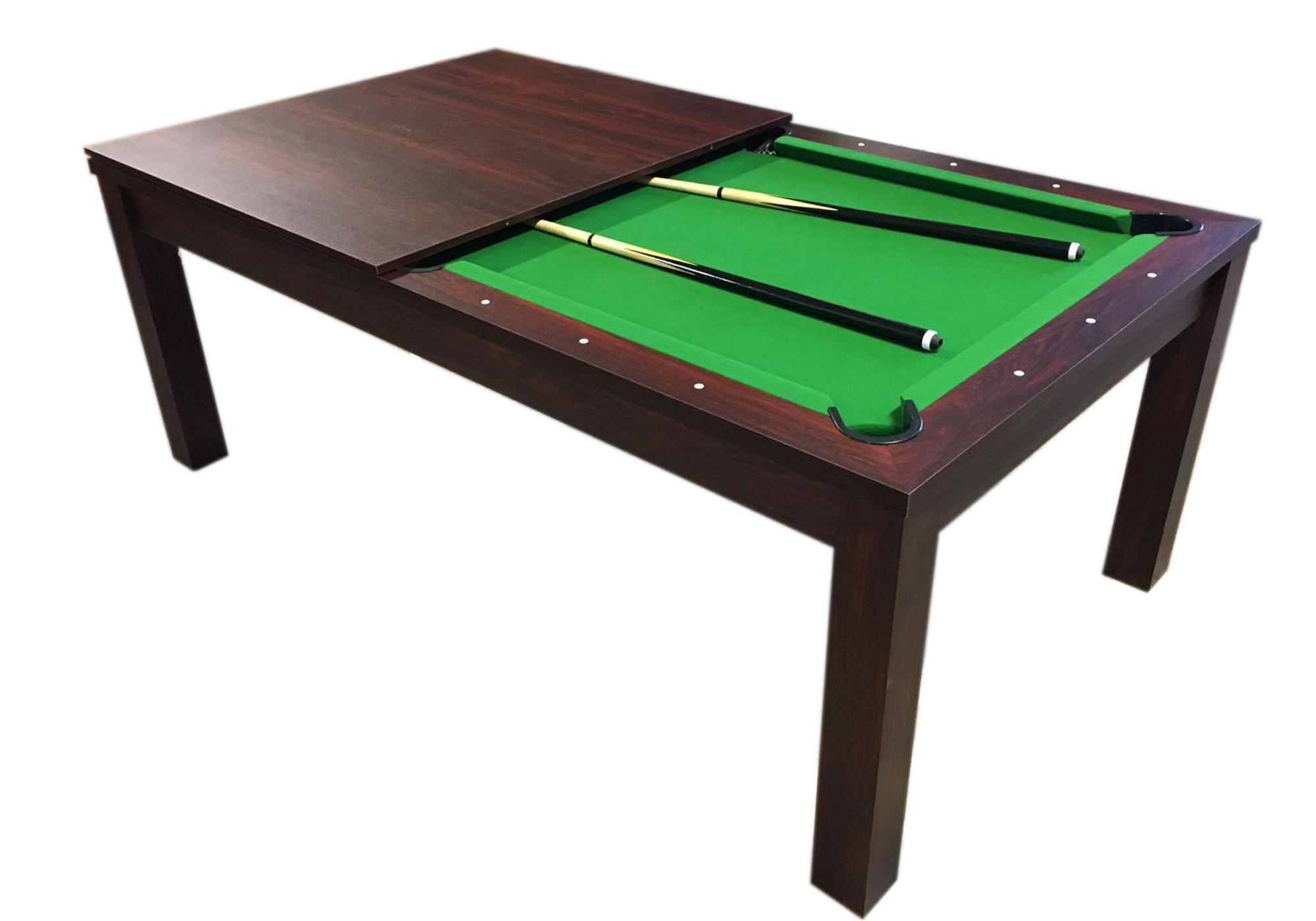 Tavolo da biliardo carambola diventa tavolo 7 piedi green - Biliardo tavolo da pranzo ...