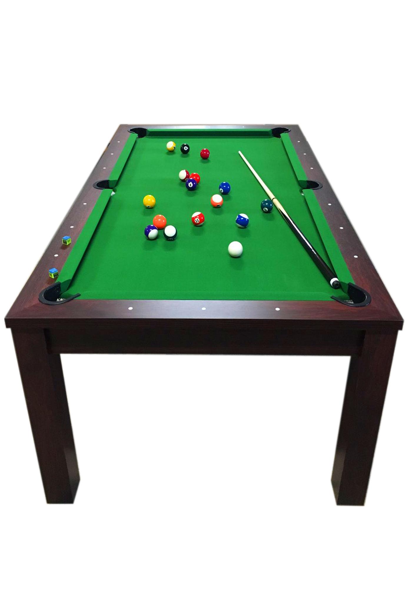 7 piedi Green Star Full Optional - Tavolo da biliardo diventa ...