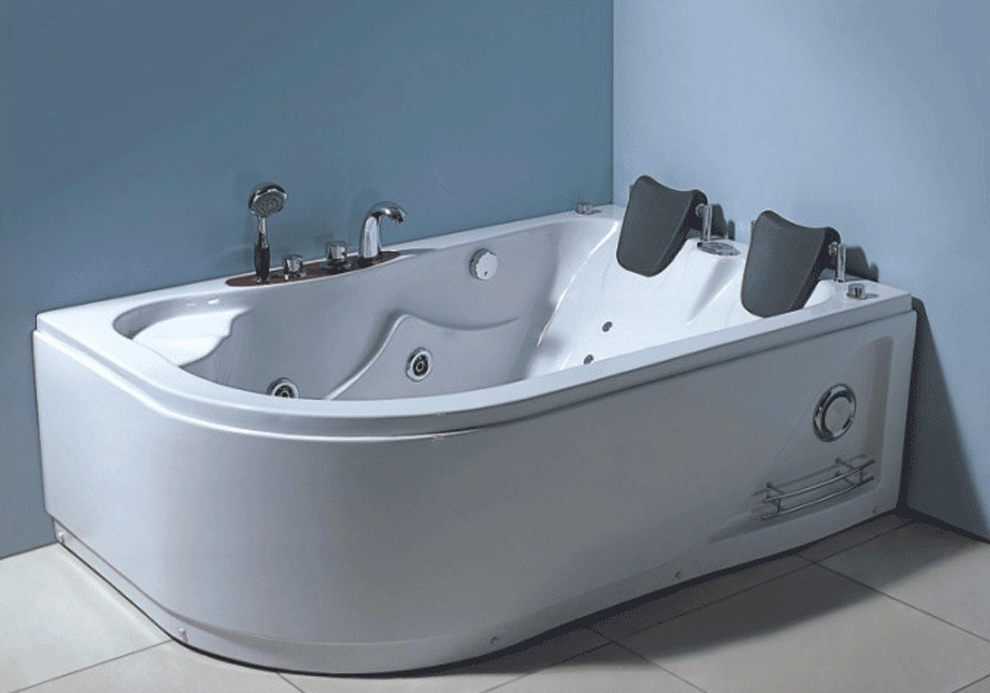 Vasca idromassaggio angolare 170 x 115 cm per 2 persone varadero - Brico vasche da bagno ...