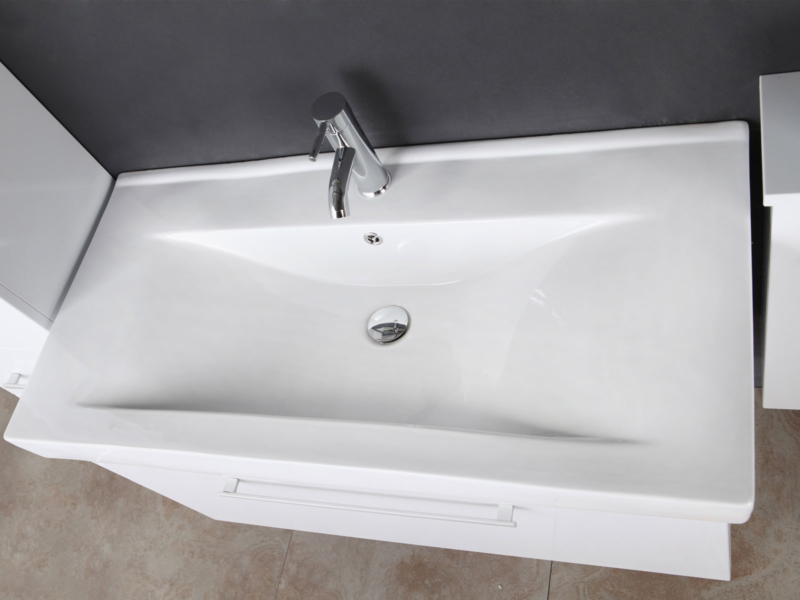 Mobile bagno arredo bagno 100 cm lavabo e colonne incluse for Mobile bagno 100 cm