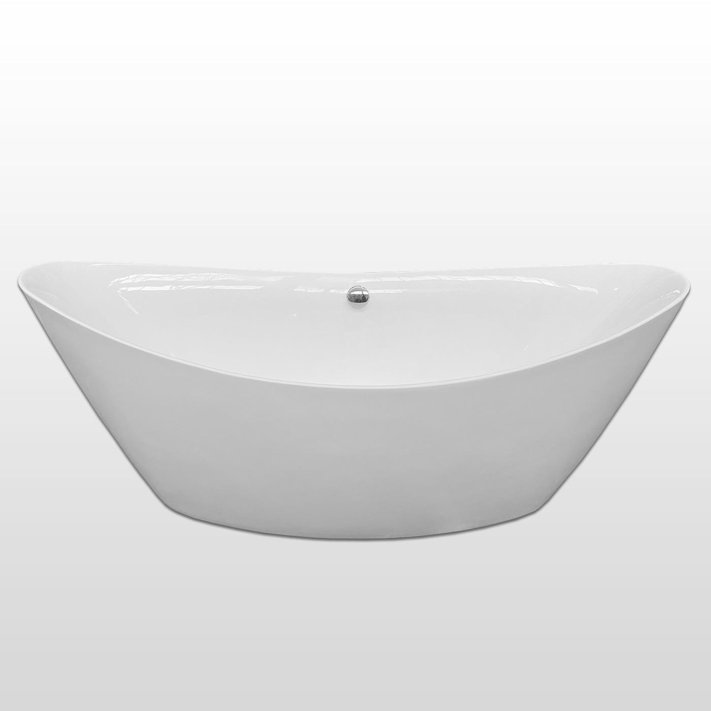 Vasca da bagno freestanding 180 x 80 cm - Beverly