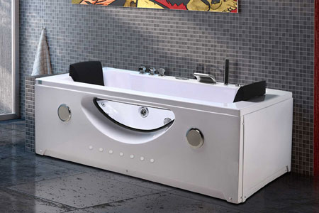 Vasca idromassaggio per 2 persone 180 X 90 cm - Harmony - SimbaShopping.com