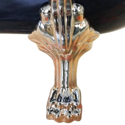 Vasca Freestanding Classica 170 x 80cm Margherita Black piedi leone