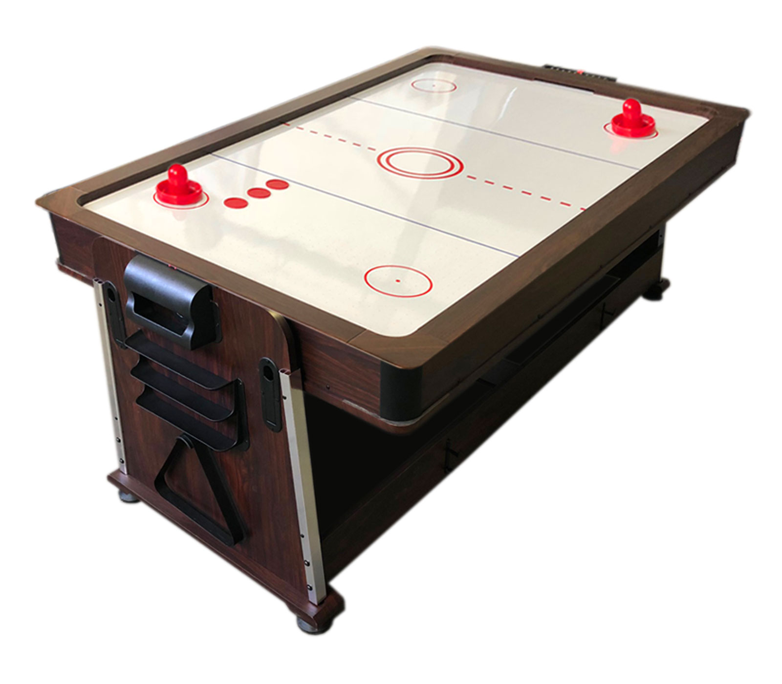 4 in 1 tavolo da biliardo 7 piedi air hockey ping pong tavolo da pranzo mattew - Tavolo da pranzo con biliardo ...