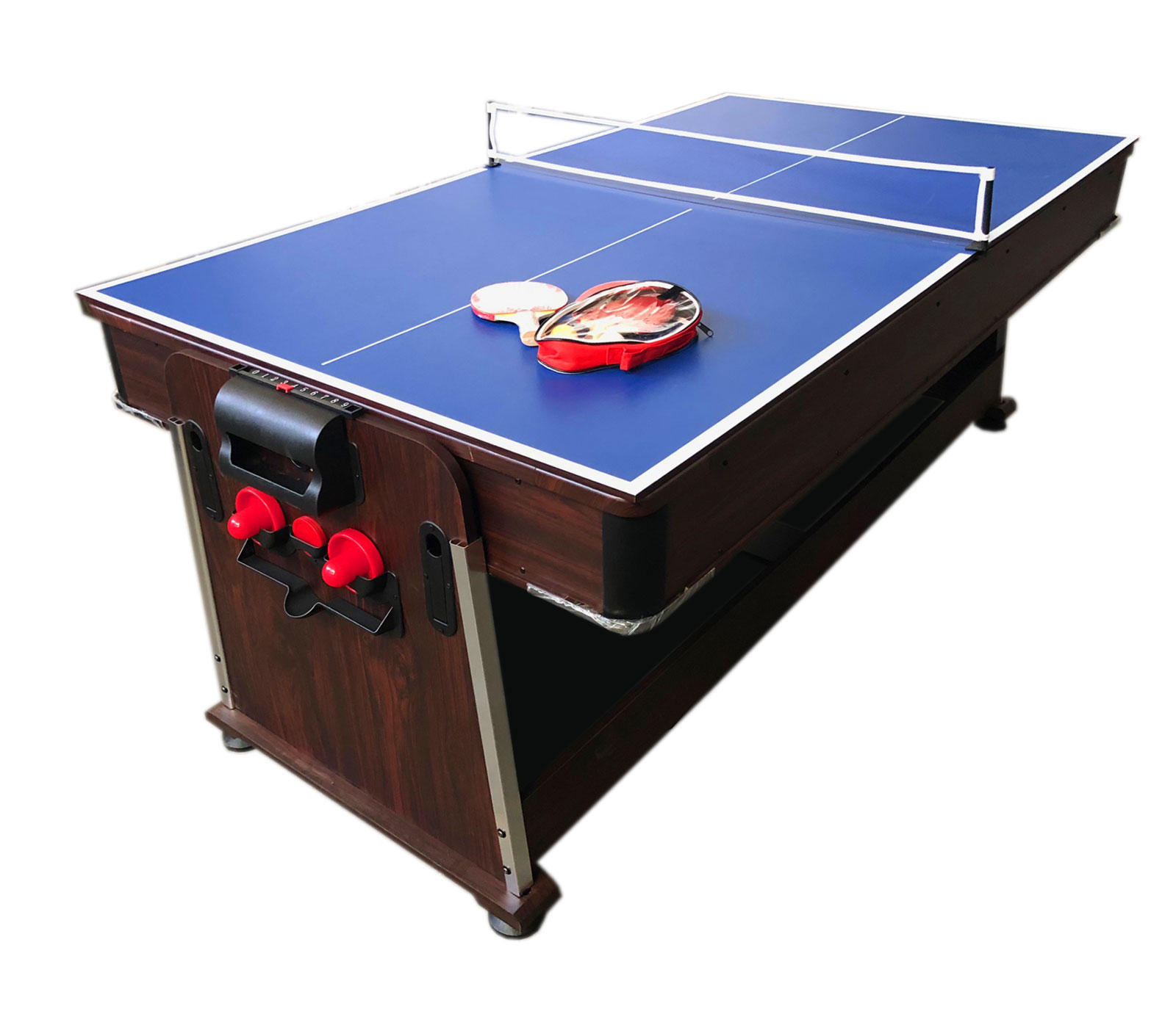 Tavolo Da Biliardo 7 Piedi Air Hockey Ping Pong Tavolo Da Pranzo Mattew